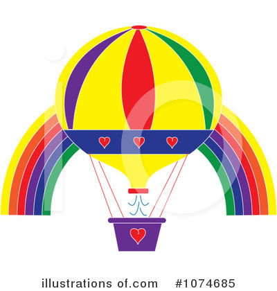 Balloons Clipart #1074685 by Pams Clipart