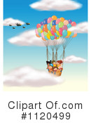 Royalty-Free (RF) hot air balloon Clipart Illustration #1120499