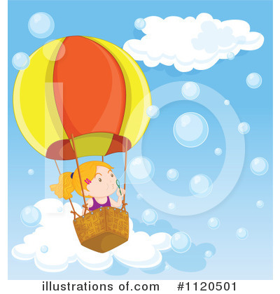 Hot Air Balloon Clipart #1120501 by Graphics RF