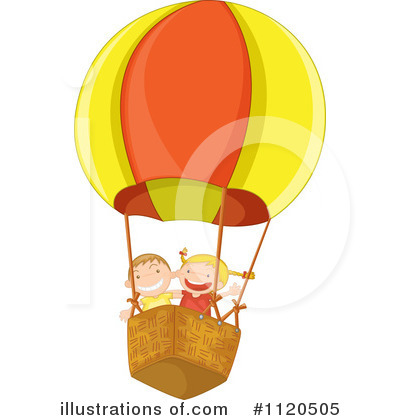 Hot Air Balloon Clipart #1120505 by Graphics RF