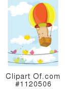 Royalty-Free (RF) Hot Air Balloon Clipart Illustration #1120506
