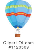 Royalty-Free (RF) Hot Air Balloon Clipart Illustration #1120509
