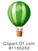 Royalty-Free (RF) Hot Air Balloon Clipart Illustration #1165262