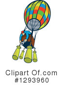 Royalty-Free (RF) Hot Air Balloon Clipart Illustration #1293960