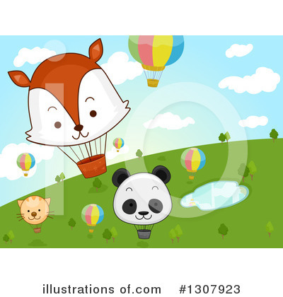 Fox Clipart #1307923 by BNP Design Studio