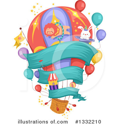 Circus Clipart #1332210 by BNP Design Studio