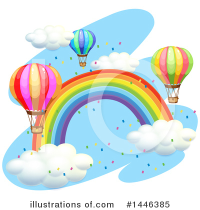 Hot Air Balloon Clipart #1446385 by Graphics RF