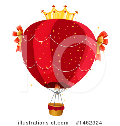 Hot Air Balloon Clipart #1462324 by Graphics RF
