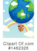 Hot Air Balloon Clipart #1462326 by Graphics RF