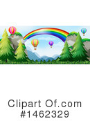 Hot Air Balloon Clipart #1462329 by Graphics RF
