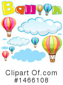 Hot Air Balloon Clipart #1466108 by Graphics RF