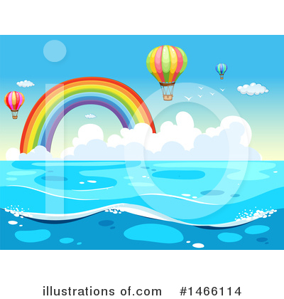 Hot Air Balloon Clipart #1466114 by Graphics RF