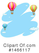 Hot Air Balloon Clipart #1466117 by Graphics RF