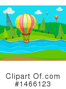 Hot Air Balloon Clipart #1466123 by Graphics RF