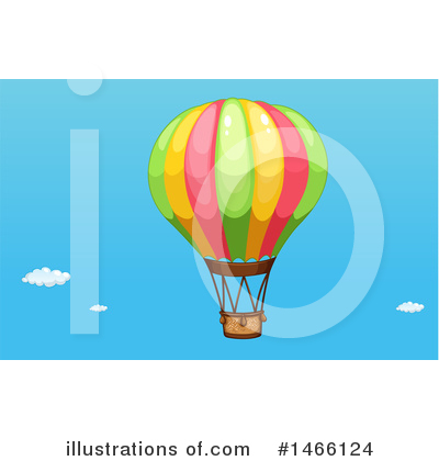 Hot Air Balloon Clipart #1466124 by Graphics RF