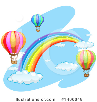 Hot Air Balloon Clipart #1466648 by Graphics RF