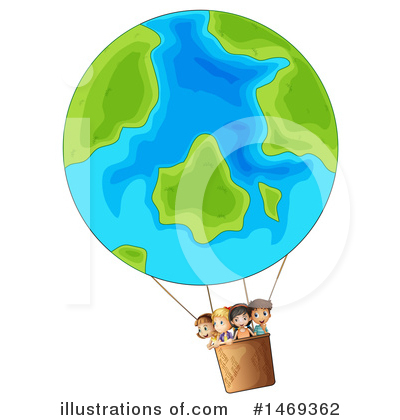 Hot Air Balloon Clipart #1469362 by Graphics RF