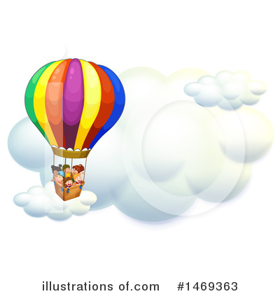 Hot Air Balloon Clipart #1469363 by Graphics RF