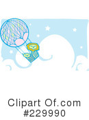 Hot Air Balloon Clipart #229990
