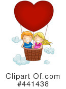 Royalty-Free (RF) hot air balloon Clipart Illustration #441438