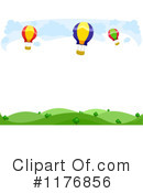 Royalty-Free (RF) hot air balloons Clipart Illustration #1176856