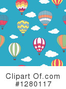 Hot Air Balloons Clipart #1280117 by Vector Tradition SM