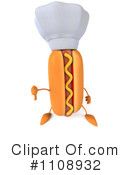 Royalty-Free (RF) Hot Dog Clipart Illustration #1108932
