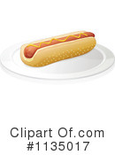 Royalty-Free (RF) Hot Dog Clipart Illustration #1135017