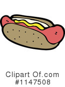 Royalty-Free (RF) Hot Dog Clipart Illustration #1147508