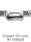 Royalty-Free (RF) Hot Dog Clipart Illustration #1156625
