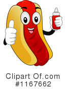 Royalty-Free (RF) Hot Dog Clipart Illustration #1167662
