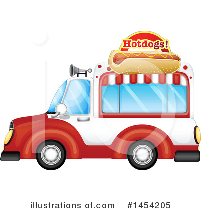 Food Truck Clipart #1454205 by Graphics RF