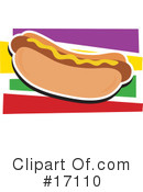 Royalty-Free (RF) Hot Dog Clipart Illustration #17110