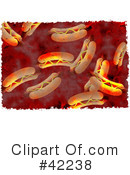Royalty-Free (RF) Hot Dog Clipart Illustration #42238