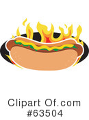 Hot Dog Clipart #63504
