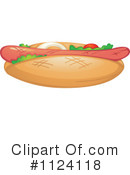 Royalty-Free (RF) Hot Dot Clipart Illustration #1124118