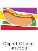 Royalty-Free (RF) Hotdog Clipart Illustration #17553