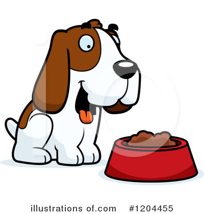 Dog Clipart #1204455 by Cory Thoman