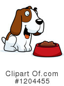 Hound Clipart #1204455 by Cory Thoman
