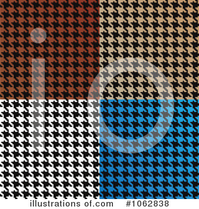 Houndstooth Clipart #1062838 by Arena Creative