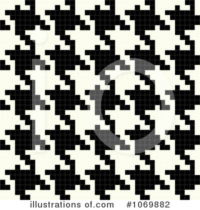 Houndstooth Clipart #1069882 by Arena Creative