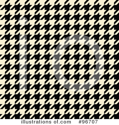 Houndstooth Clipart #96707 by Arena Creative