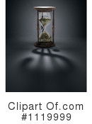 Royalty-Free (RF) Hourglass Clipart Illustration #1119999