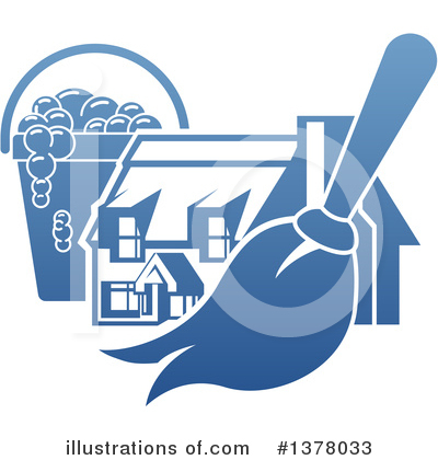 House Clipart #1378033 by AtStockIllustration