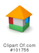 Royalty-Free (RF) House Clipart Illustration #101756