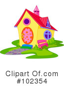 Royalty-Free (RF) House Clipart Illustration #102354