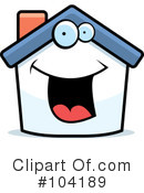 Royalty-Free (RF) House Clipart Illustration #104189