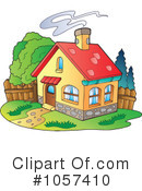 Royalty-Free (RF) House Clipart Illustration #1057410
