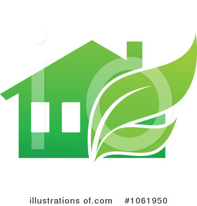 Royalty-Free (RF) House Clipart Illustration by Vector Tradition SM - Stock Sample #1061950