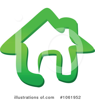 House Clipart #1061952 by Vector Tradition SM